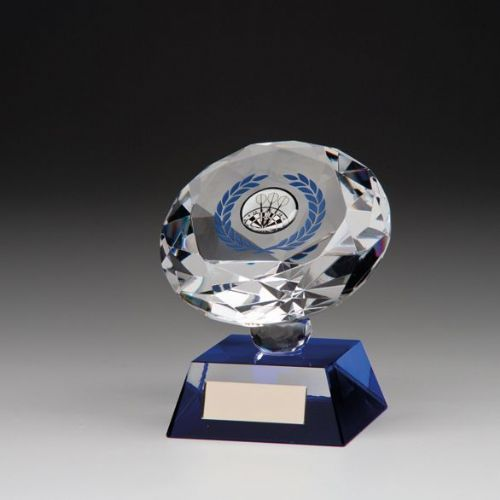 Solitaire Crystal Multi Sport Award 100mm